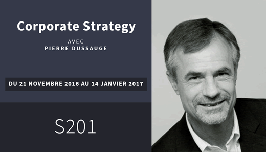 HEC Intra - Corporate Strategy S201