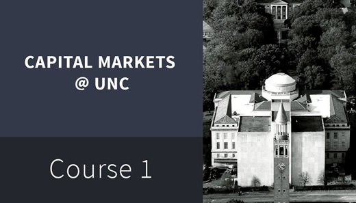 CMF10-1 Introduction To Capital Markets UNC110